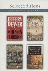 Reader's Digest Select Editions Volume 6 1999: The Devil's Teardrop / Lake News / Thunderhead / A Walk to Remember