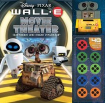 Disney Pixar Wall-E Movie Theater Storybook & Movie Projector