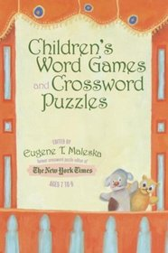 Children's Word Games and Crossword Puzzles, Ages 7-9, Volume 1 (Other)