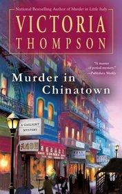 Murder In Chinatown (Gaslight, Bk 9)