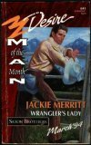 Wrangler's Lady (Man Of The Month, Saxon Brothers, Bk 1) (Silhouette Desire, No 841)