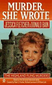 The Highland Fling Murders (Murder, She Wrote, Bk 8)