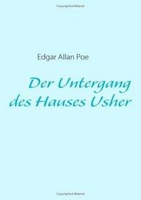 Der Untergang des Hauses Usher (German Edition)