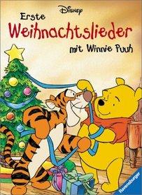 Erste Weihnachtslieder mit Winnie Puuh.