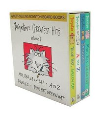 Boynton's Greatest Hits: Mo, Baa, LA LA La!/A to Z/Doggies/Bluehat, Green Hat (Boynton, Sandra. Boynton Board Books.)