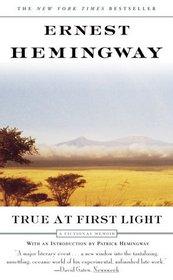 True At First Light : A Fictional Memoir