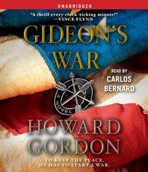Gideon's War (Gideon Davis, Bk 1) (Audio CD) (Unabridged)