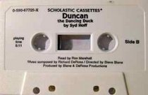 DUNCAN THE DANCING DUCK (BY SYD HOFF) (NOT A CD!) (AUDIOTAPE CASSETTE AUDIOBOOK) 1995 SCHOLASTIC INC. (SCHOLASTIC CASSETTES)