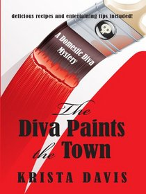 The Diva Paints the Town (Wheeler Large Print Cozy Mystery)