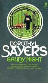 Gaudy Night (Lord Peter Wimsey)