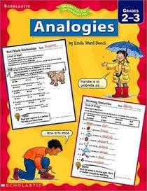 Analogies Grades 2-3 (Ready-To-Go Reproducibles)