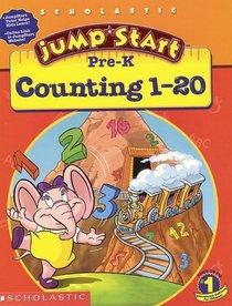 Jumpstart Pre-k Workbook : Counting 1-20 (Jumpstart)