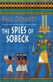The Spies of Sobeck (Ancient Egyptian Mysteries, Bk 7) (Large Print)