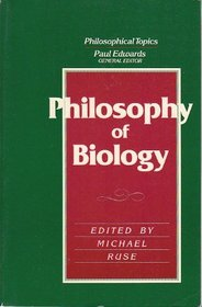 Philosophy and Biology