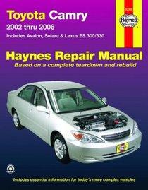 Toyota Camry 2002-2006 Repair Manual (Haynes Repair Manual)