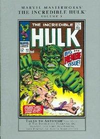 Marvel Masterworks Incredible Hulk 3
