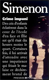 Crime Impuni (Simenon) (French Edition)