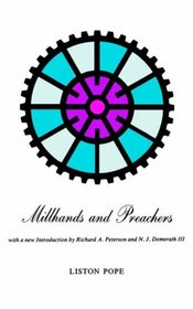 Millhands and Preachers : A Study of Gastonia (Yale Studies in Religious Education)