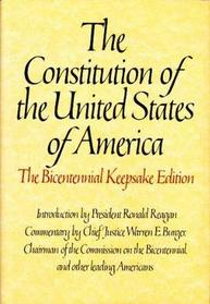 Constitution of the United States of America (Bicentennial Keepsake Edition)