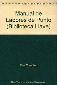 Manual de Labores de Punto (Biblioteca Llave)
