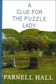 A Clue for the Puzzle Lady  (Puzzle Lady Bk 1) (Large Print )