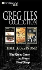Greg Iles Collection : The Quiet Game, 24 Hours, Dead Sleep