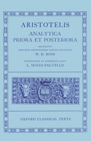 Aristotelis Analytica Priora Et Posteriora (Oxford Classical Texts)