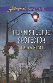 Her Mistletoe Protector (Love Inspired Suspense, No 365)
