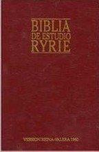 Biblia de estudio Ryrie: Ryrie Study Bible