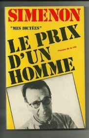 Le prix d'un homme (French Edition)