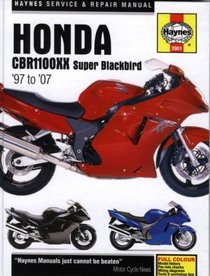 Honda CBR11000XX Super Blackbird '97 to '07 (Haynes Service & Repair Manual)