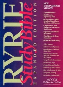 Ryrie Study Bible: Expanded Edition : New International Version/Red Letter Edition