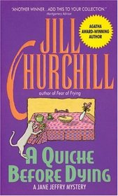 A Quiche Before Dying (Jane Jeffry, Bk 3)
