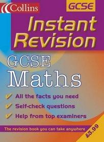 GCSE Mathematics (Instant Revision)