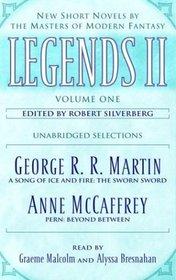 Legends II, Vol 1: New Short Novels by the Masters of Modern Fantasy (Audio Cassette) (Unabridged)