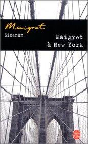 Maigret A New-York / Maigret in New York (Inspector Maigret Mysteries)