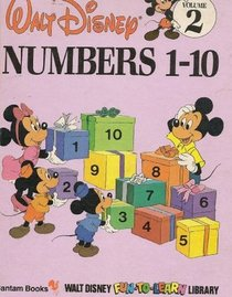 Numbers 1-10 (Walt Disney Fun-To-Learn Library, 2)