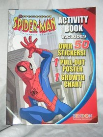 The Spectacular Spider-Man Activity Book with Pull-Out Poster & Growth Chart