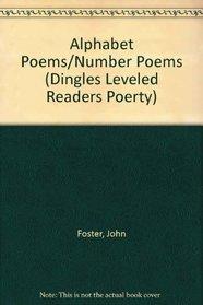 Alphabet Poems/Number Poems (Dingles Leveled Readers Poerty)