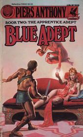 Blue Adept (Apprentice Adept, Bk 2)
