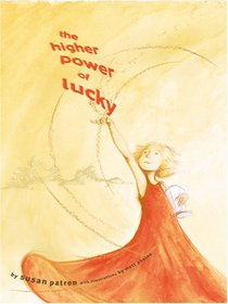 The Higher Power of Lucky (Lucky, Bk 1) (Large Print)