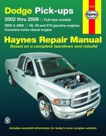 Haynes Repair Manual: Dodge Pick-ups: 2002-2008