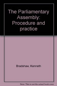 The Parliamentary Assembly: Procedure and practice