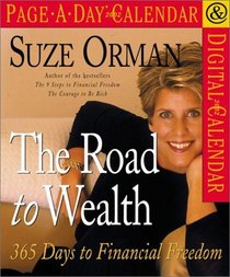 Suze Orman The Road to Wealth Page-A-Day Calendar 2002