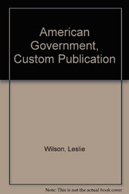 American Government, Custom Publication