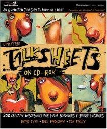 TalkSheets on CD-ROM