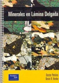 Minerales En Lamina Delgada (Spanish Edition)