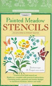 Painted Meadow Stencils: Buttercups  Forget-Me-Nots