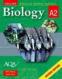 Biology A2 (Collins Advanced Modular Sciences)