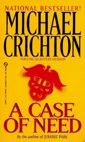 A Case of Need (Wheeler Large Print Book)